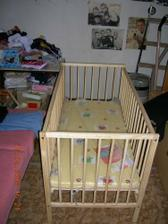 naše postýlka pro budoucí miminkobuď Matýska a nebo Lucinku