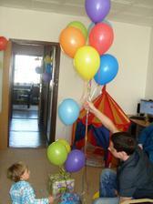 vypouštění balonků