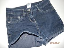 Riflové šortky-větší, c&a,134