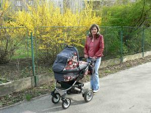 Poprvé na procházce