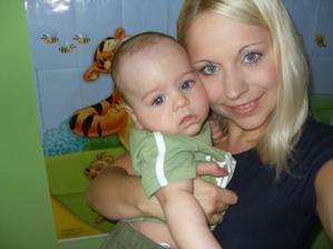 s maminkou 4 a půl měsíce