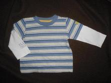 Tričko s dvojitým rukávem, mothercare,86