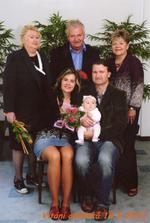 Vítání občánků - děda Karel jel babičce pro narozeninové překvapení
