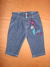 Lehké džíny/rifle pro malou holčičku, f&f,68