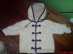 flísová zimní bunda