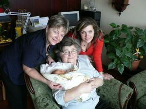 S prababičkou, babičkou a maminkou