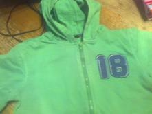 Zelená bavlněná mikina, george,146