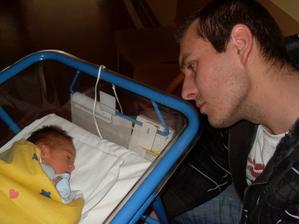 v porodnici s tatínkem