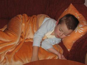 Spící andílek:-)