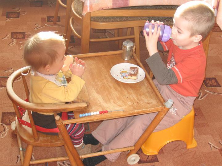 Společná snídaně :-)