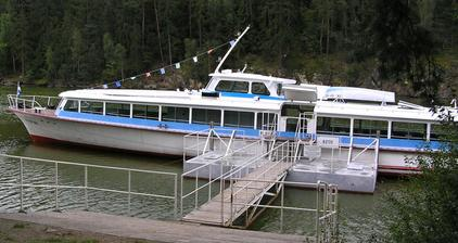 loď Plzeň (Hracholusky)