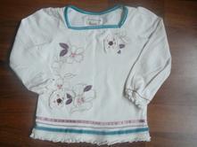 Tričko s kytkama, mini mode,86
