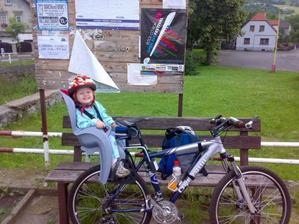 Terky nová oblíbená činnost, jízda na kole.