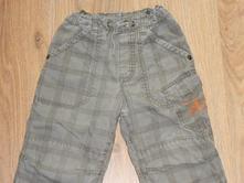 Podšité bavlnou kalhoty hm vel.92-98, h&m,92