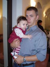 I s tatínkem :-)