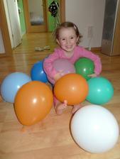 Bez balónků by nebyla oslava :)