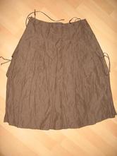 Nenošená hnědá sukně, 36