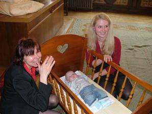 máma a babí v dobré náladě:-)