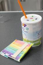 vkládání barevných dřívek