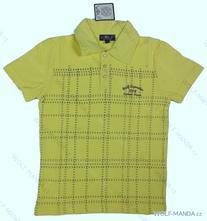 Chlapecké triko s límečkem akce, wolf,122