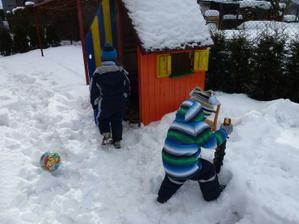 Konečně sníh:-)