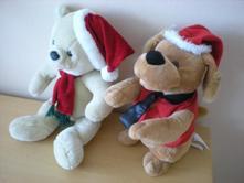 Vánoční velcí plyšáci,