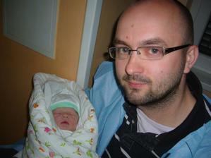 Unavený táta dorazil ....:-)