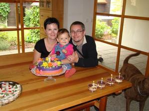 s maminkou a tatínkem