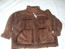 Dětská bunda s kožíškem , 104