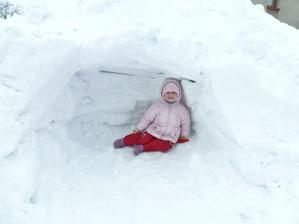 Princezna ve sněhovém iglů:-)