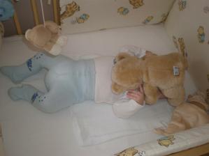 zápasil jsem s medvědem, až jsem z toho usnul