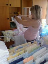 Příprava oblečků na mimi