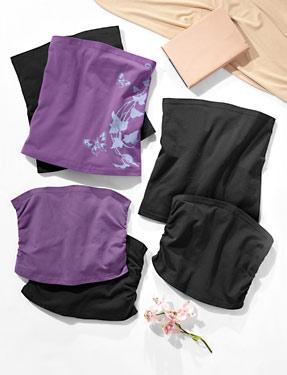 fbe692e3691 Těhotenský břišní pás - mám ten fialový s potiskem a černý - Lidl