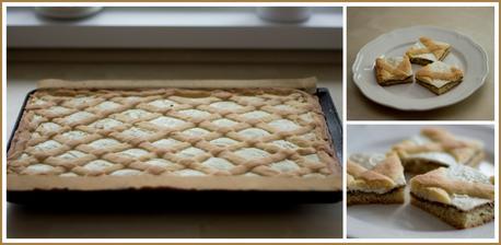 Mřížkový linecký koláč podle @budlina1