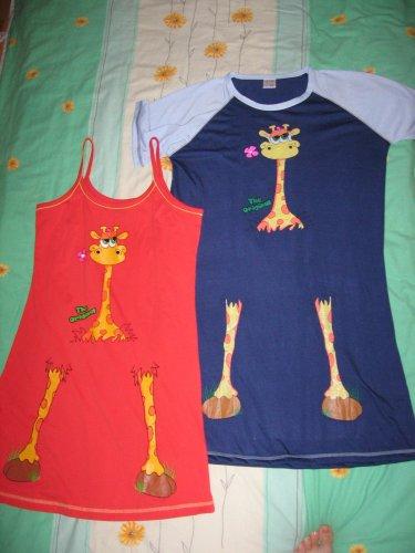 Žirafky pro štěstí ;o))