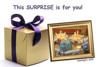 dortík a dárečky... skoro jak na vánoce :-)