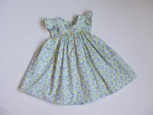 P371 plátěné šaty  vel. 74, nutmeg,74