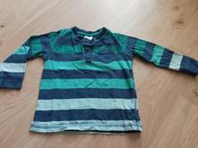 Modrozelené dětské tričko zn. f&f, vel. 74, f&f,74