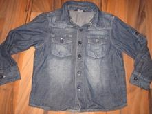 Plátěná riflová košile, george,98