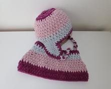 Zimní čepice a nákrčník na objednávku, <50 - 158