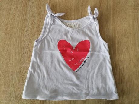 Krásne tričko h&m, h&m,80