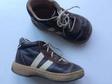 Kotníkové kožené boty č.090, pegres,23