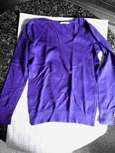 Elegantní fialový svetřík, camaieu,s