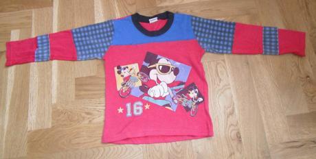 F174chlapecké triko s dlouhým rukávem mickey, disney,104