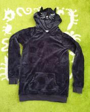 Kočičková mikina 158/164, h&m,158