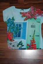 Pomalované tričko, triko, next,116
