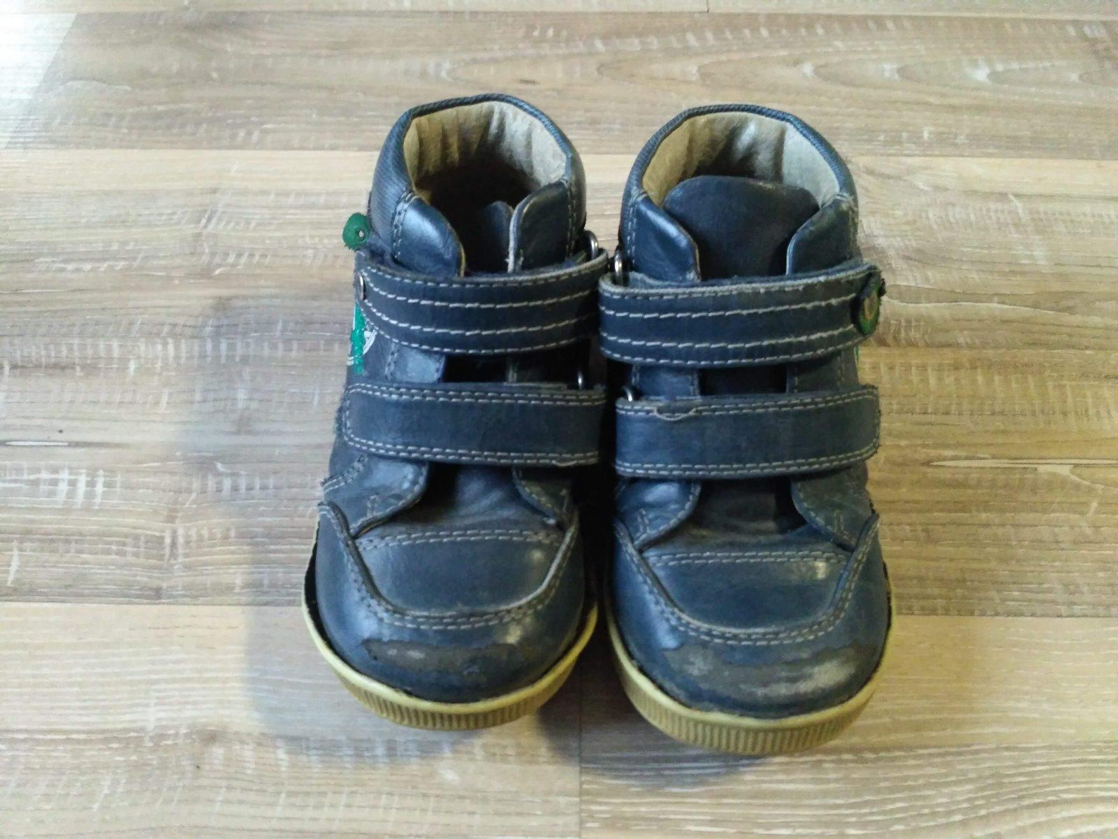 f8e323019655 Kožené kotníkové boty