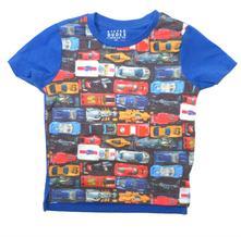 Bavlněné tričko s auty, tu,80