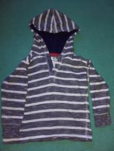 Tričko s dlouhým rukávem a kapucí vel. 110 (104), pepco,104