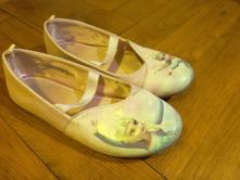 Balerínky, střevíčky, boty s elsou frozen, h&m,33